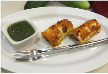 Paneer Mirch Roll (1)