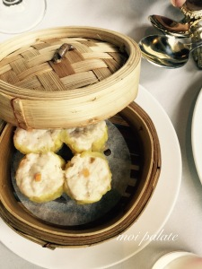 chicken and prawn sui mui dumpling